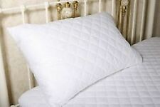 Pillow Protector 50cm x 90cm Qulited Zipped Closure Extra Large King Size