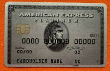 American Express Platinum. Authentic. Ultra RARE ! Collectible.