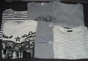 T-Shirt Paket - 6 Shirts - Größe M L XL