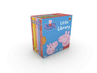 NEW Peppa Pig Little Library Book TV Box Set Bundle Baby Kids Board Pocket Story