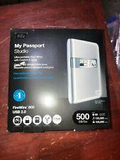 WD MY PASSPORT STUDIO 500GB