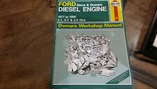 FORD SIERRA & GRANADA DIESEL ENGINE 2.1, 2.3, 2.5 1977-90 Haynes Workshop Manual