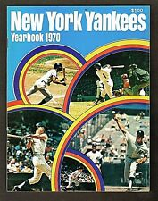 1970 New York Yankees Yearbook, Includes Special Photo Foldout (Never removed)