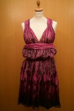 NWOT Plein Sud Purple Silk Dress