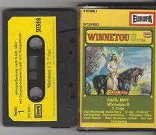 MC Kassette Karl May WINNETOU II  2 Folge - EUROPA -  Original Indianermusik