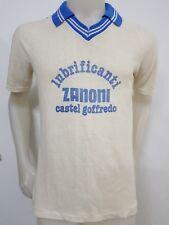 MAGLIA CALCIO SHIRT VINTAGE CASTELLANA CASTEL GROFFREDO ZANONI N.3 OLD GARA IT97