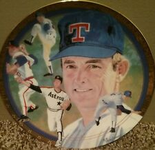 The Best Of Baseball Hamilton Collection Collector's Plate Nolan Ryan Express