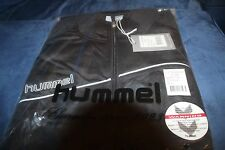 MENS HUMMEL JACKET - SIZE XXL - BLACK and WHITE - BRAND NEW WITH TAGS