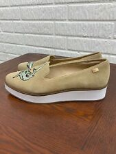 Australia Luxe Collective Embroidered Shark Suede Pointed Platform Shoes Size 10