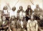 Внешний вид - 1891 Lakota Sioux Chiefs PHOTO Ended Indian Wars, Native American Chief Group