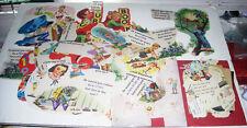 Large Lot of Vintage School Reader Cutouts Dick & Jane Classroom Decor