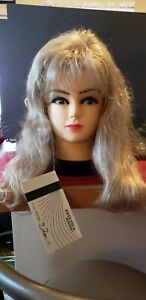 NWT Estetica Thick Long Layered Blonde Wig..., color 22