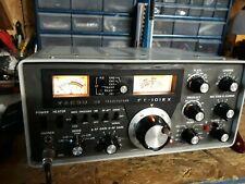Yaesu 101ex Transceiver in excellent condition for ham radio and shortwave