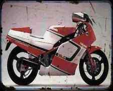Bimota Yb5 88 A4 Metal Sign Motorbike Vintage Aged