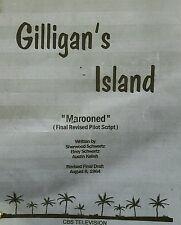 "Gilligan 's Island Script Pilot "" Marooned "" Final Revised Aug.1964 Bob Denver"