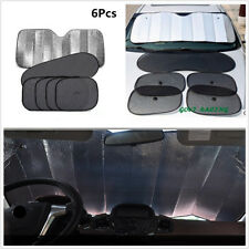 Universal 6Pcs Aluminum Foil Car Sun Shade UV Protect Sunshade Window Solar Film