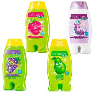 Avon Naturals Kids Body Wash & Bubble Bath 250ml