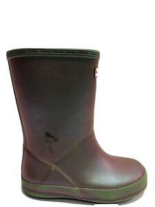 Hunter Toddlers' First Classic Nebula, Rain Boots, Girls' Size 10.