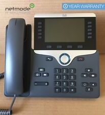Genuine Cisco CP-8851-K9 VoIP IP PoE Color LCD Display Phone 8851 QTY