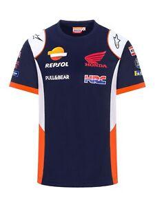 T-Shirt Repsol Honda Official Teamwear Replica 2020 MotoGP Shirt Polyester