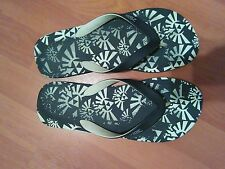 The legend of Zelda Twilight Princess flip flops black and white size 8 Nintendo