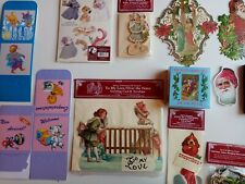 Shackman Diecut, puzzle, jigsaw,cut out postcards,Christmas/greeting/gift cards