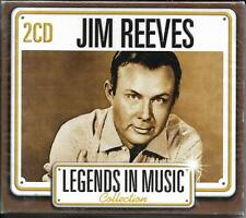 DOUBLE CD AVEC FOURREAU 24T JIM REEVES LEGENDS IN MUSIC BEST OF 2007 NEUF SCELLE