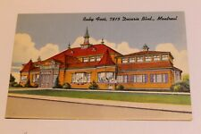 Vintage Postcard unused Ruby Foo`s Decarie Montreal restaurant