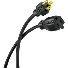 HDX 50 ft. 16/3 Black Outdoor Extension Cord