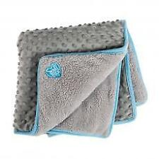 Small Bite Pocket Blanket 60x60cm Blue