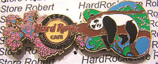 2015 HARD ROCK CAFE WASHINGTON DC CHERRY BLOSSOM PANDA GUITAR LE PIN