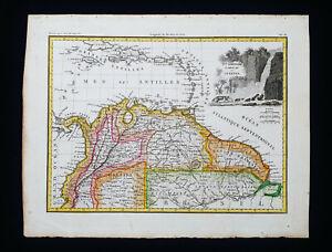 1810 LAPIE: SOUTH AMERICA, CARACAS, VENEZUELA, GUYANA, COLOMBIA, PANAMA