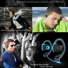 Jabees Bluetooth Wireless Headsets Headphone Earphone Blue Universal UK Stock