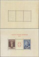 Croatia 1943 Miniature Sheet - MNH Stamps D437