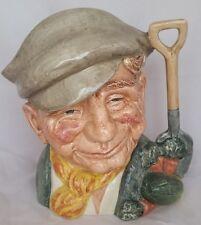 The Gardener D6630 Royal Doulton Character Jug