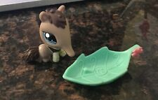 Littlest Pet Shop - Anteater - # 1518 - Brown w/ Blue Eyes - Special Edition Lps