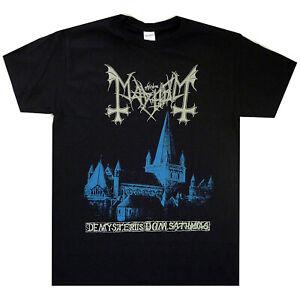 Mayhem De Mysteriis Shirt S M L XL XXL Black Metal T-Shirt Official Band Tshirt