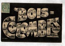 BOIS COLOMBES (92) SOUVENIR de ... QUARTIERS animés en 1906