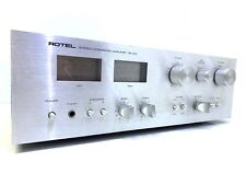 ROTEL RA-314 Stereo Integrated Amplifier 50 Watts RMS Vintage 1978 Good Look