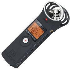 F/S NEW ZOOM handy recorder H1 MB Matt Black ver.2.0 Linear PCM Audio from JAPAN