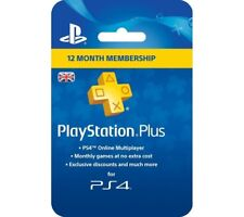 PlayStation 4 Plus card 365 Days NEW SEALED DISPATCH BY 2PM