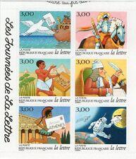 SERIE TIMBRES 3156-3161 NEUFS ADHESIFS LUXE - LES JOURNEES DE LA LETTRE 1998