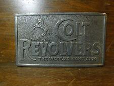 Vintage Gem Brand Belt Buckle-Colt Revolvers
