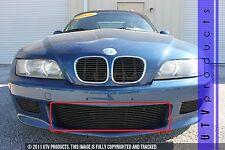 GTG 1996 - 2002 BMW Z3 1PC Gloss Black Overlay Bumper Billet Grille Grill