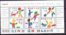 Nederland 2002 - MNH - Blok - Kinderzegels