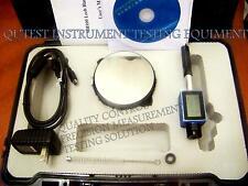 New Digital Pen Size Integrated Leeb Hardness Tester D Type  Software Test Block