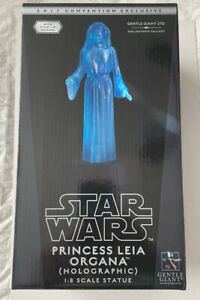 SDCC 2017 Gentle Giant Star Wars Princess Leia Organa Holographic Statue 1/8 New