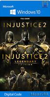 Injustice 2 - Legendary Edition PC Digital read the description