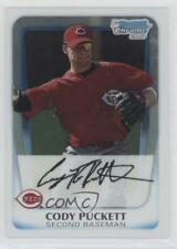 2011 Bowman Chrome Prospects Cody Puckett #BCP64