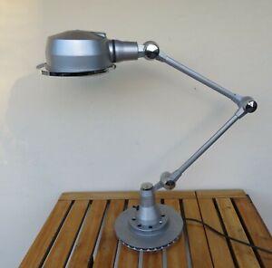 Lampe JIELDE LAK LAC 2 bras sur pied déco vintage industriel loft atelier bureau